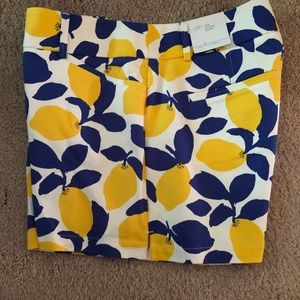 New! Ann Taylor Loft Lemon Rivera Shorts Size 6